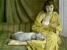 Jaune_femme_chien